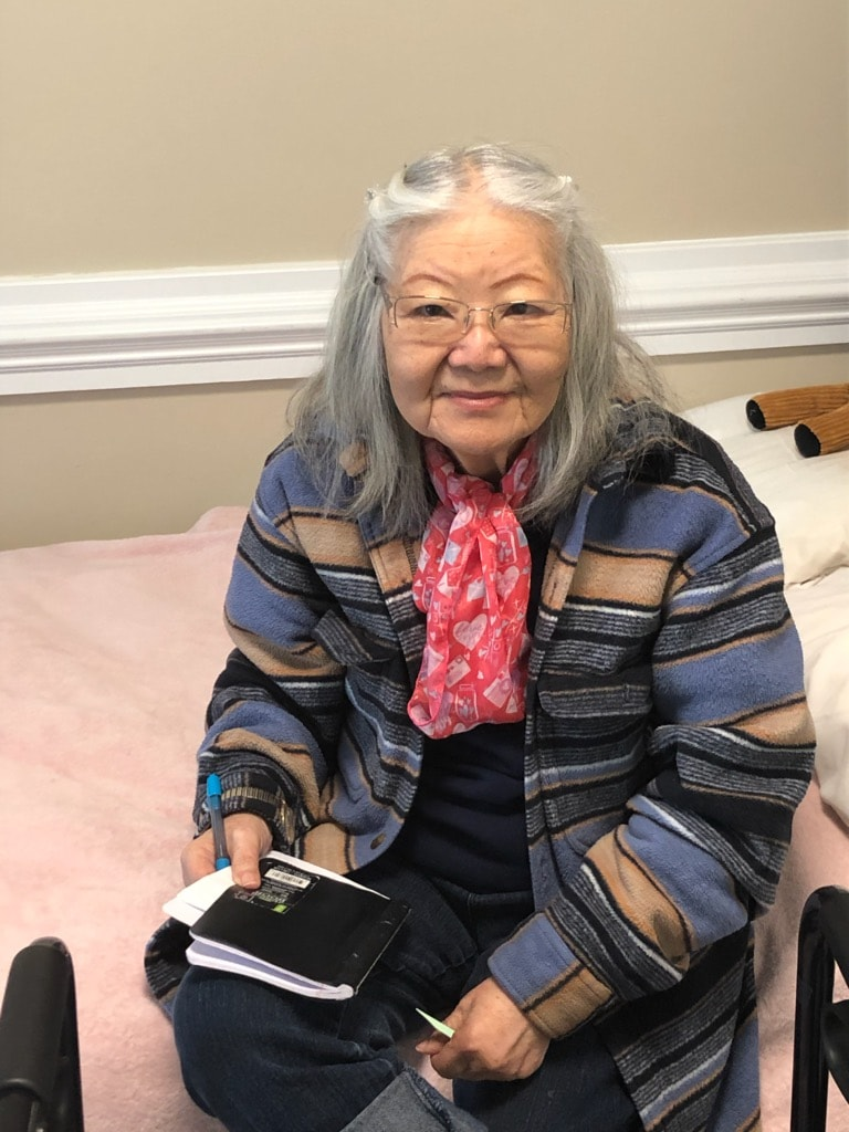 Residents share smiles at Chatham Commons